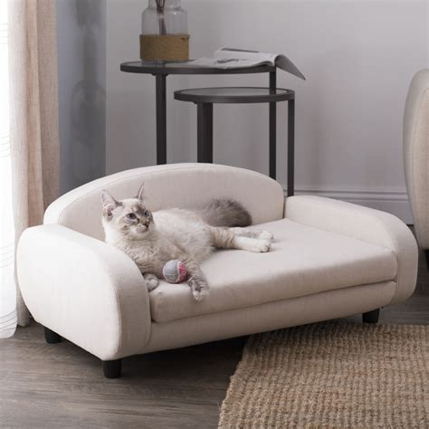 pet sofa bed pet sofa bed  small dogs  cats  white