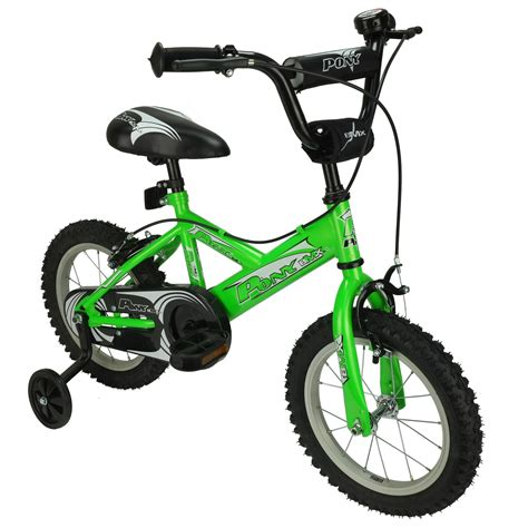 Pony 12 Inch Bmx Kids Bicycle  Green Jollymap