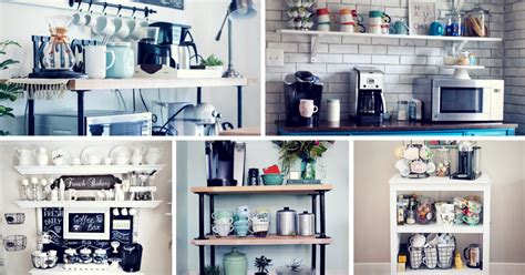 30 charming diy coffee station ideas for all coffee lovers homelovr