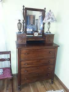 highboy dresser with mirror antique ebay
