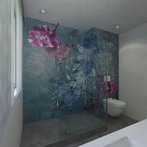 Wasserfeste Tapete Dusche : badezimmer tapete ~ Sanjose-hotels-ca.com Haus und Dekorationen