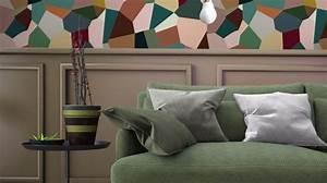 Tendance Papier Peint Couloir : papier peint tendance les plus beaux mod les d co et conseils de pose c t maison ~ Melissatoandfro.com Idées de Décoration