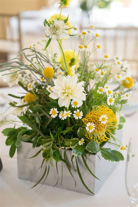 green  yellow wedding centerpiece texture
