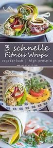 Wraps Füllung Vegetarisch : 3 leckere und schnelle wraps rezepte mit lachs thunfisch und linsen ~ Markanthonyermac.com Haus und Dekorationen