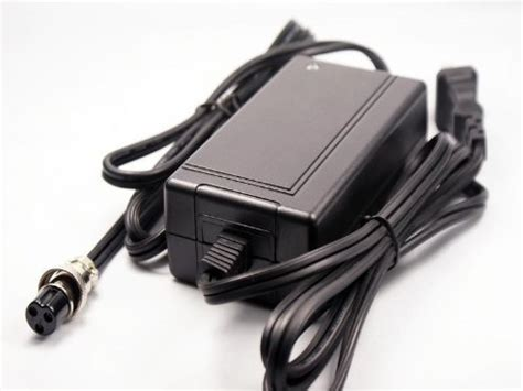 Razor E175 Electric Scooter Battery Charger 24v 1.5a 3-pin