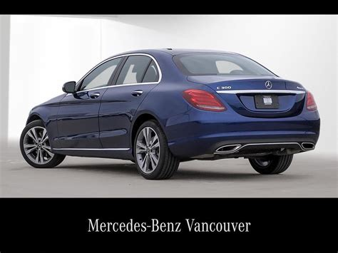 Learn more about price, engine type, mpg, and complete safety and warranty information. Mercedes-Benz Vancouver | 2018 Mercedes-Benz C300 4MATIC Sedan | #VE2363909
