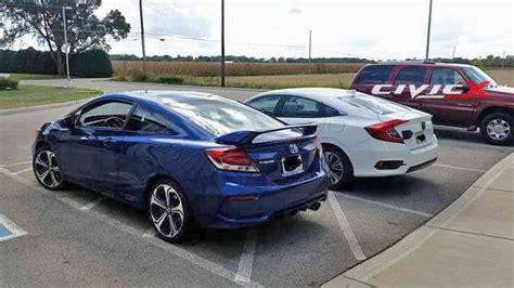 2016 Honda Civic Sedan Vs. Outgoing Civic Coupe