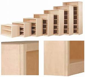 Unfinished Bookcases With Doors — Doherty House
