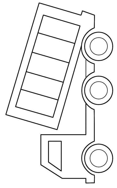 truck template dump truck coloring pages clipart best clipart best
