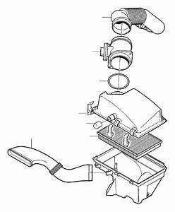 Volvo S80 Engine Air Intake Hose  Air Inlet  Air Filter