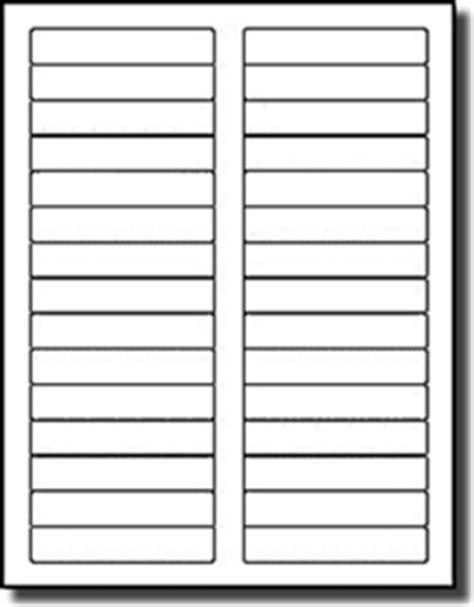compulabel white blank printable file folder labels