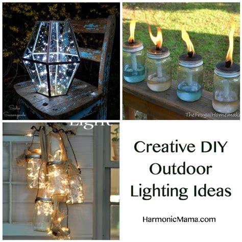 diy outdoor lighting ideas friday finds creative diy outdoor lighting ideas