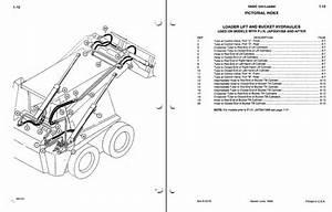 Case 1845c Skid Steer Loader Service Manual Parts Manual