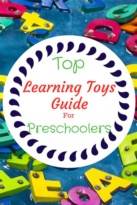 Absolute Top Learning Toys Preschoolers Love At Home
