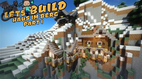 Haus Im Berg  Minecraft Tutorial Youtube