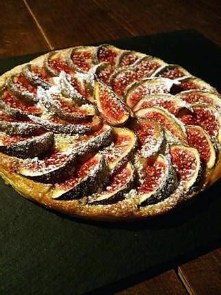 recette de tarte aux figues et cr 232 me d amandes