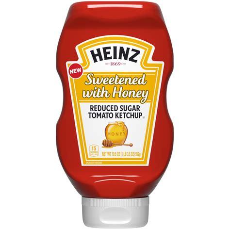 Heinz® Heinz Sweetened with Honey Reduced Sugar Tomato ...