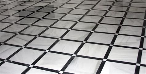Black And White Floor Tiles by Black And White Marble Floor Tiles