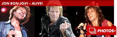 Jon Bon Jovi Not Dead Tmz