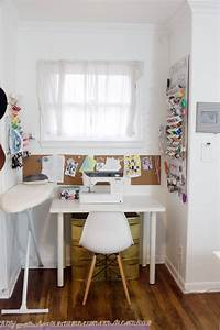 sewing room designs Where I Sew // Sewing Room Tour - see kate sew