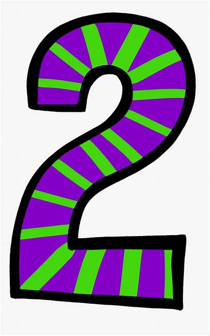 Number Clipart Birthday Transparent Purple Polka Clip