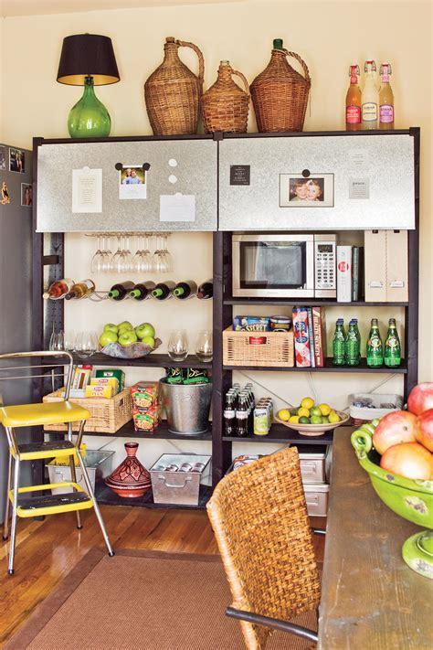 organize  kitchen southern living