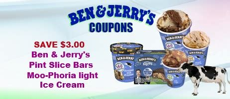 38604 Ben Jerrys Coupon by Ben Jerry S Coupons Coupon Network