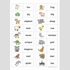 Animal Dominoes Worksheet  Free Esl Printable Worksheets Made By Teachers