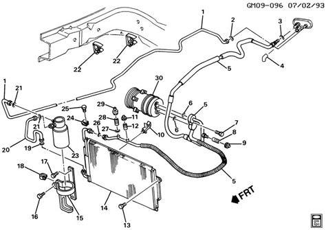 99 Oldsmobile Alero Engine Diagram by 2000 Oldsmobile Bravada Cooling System Diagram Wiring