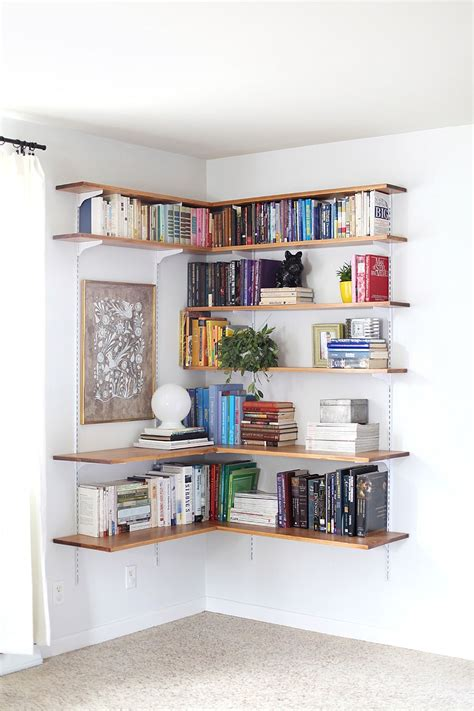 diy corner shelf ideas   room   home