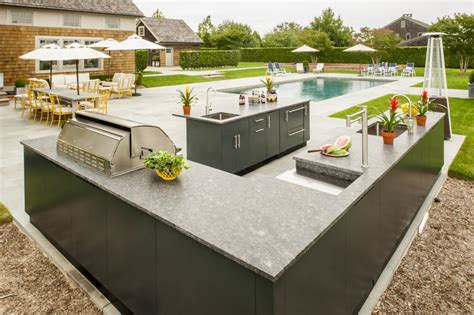 Outdoor L by Outdoor Kitchen Layout Tips Tricks Danver