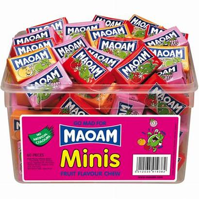 Sweets Maoam Haribo Tub Minis Chews Pack