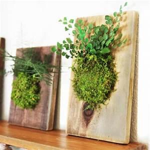 Foto Auf Holz Selber Machen : 1001 ideen zum thema moosbilder selber machen ~ Buech-reservation.com Haus und Dekorationen