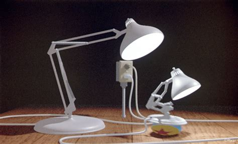 Pixar Luxo Jr L Collection by Lasseter Pixar Creative Computer Animation Pioneer