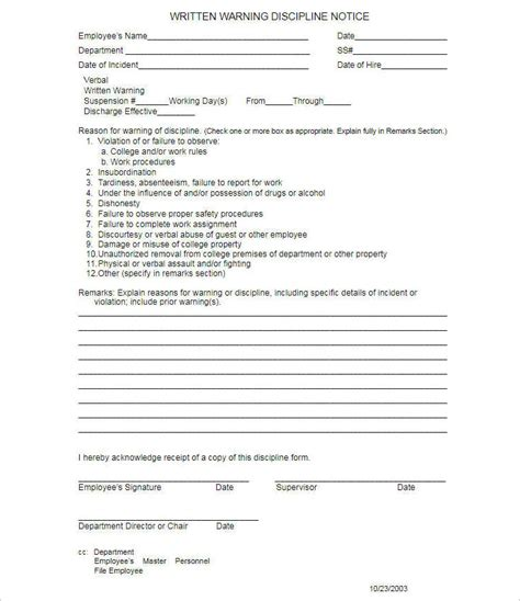 write up template 19 employments write up form template free doc excel formats