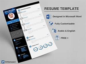 Resume Template On Microsoft Word Download The Unlimited Word Resume Template Free On Behance