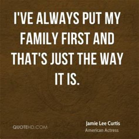 Putting Family First Quotes