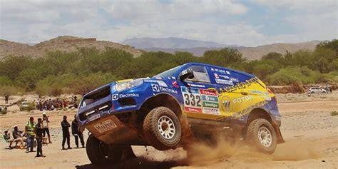 foton improves  performance  dakar rally auto