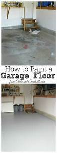 how to organize the garage clean and scentsible With how to clean painted garage floor