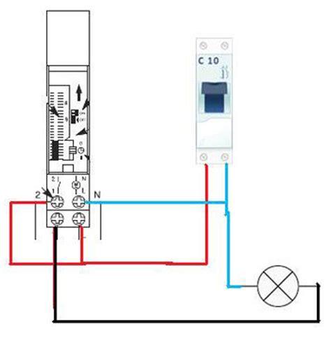 cablage electrique cuisine résolu branchement horloge schneider electric
