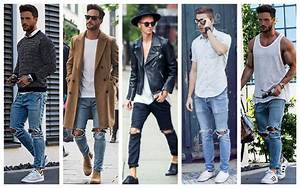 How to Wear Menu2019s Skinny Jeans - TheTrendSpotter