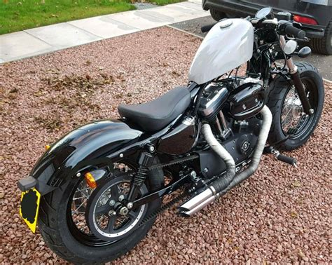 Harley Davidson Forty Eight Modification by Harley Davidson 48 Forty Eight 1200xl Custom Bobber