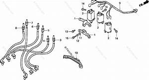 Honda Motorcycle 1996 Oem Parts Diagram For Ignition Coil