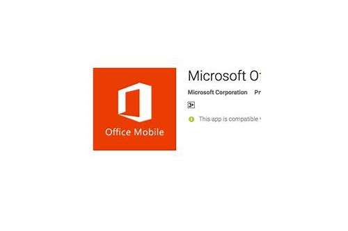 microsoft office mobile for android free download