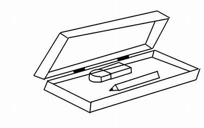 Pencil Box Drawing Draw Step Lessons Bforball