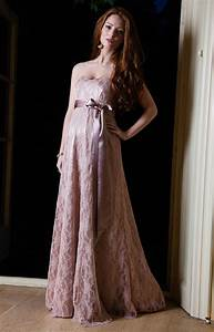 olivia maternity gown antique rose maternity wedding With robe de soirée pour femme enceinte