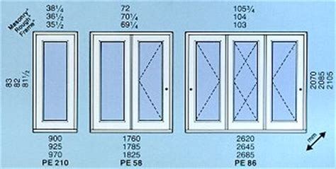 sizes for swinging patio doors by goldon windows and