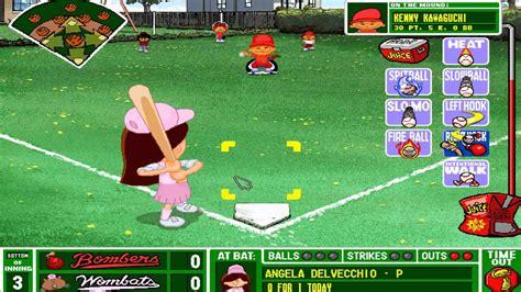 Backyard Baseball 1997 backyard baseball 1997 the worst single play