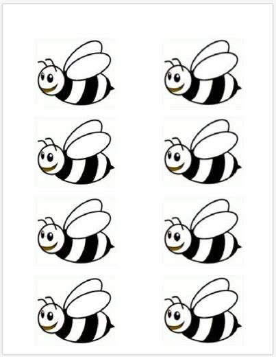 bumble bee template bumble bee template printable school at home bumble bees bees and bee theme