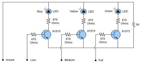 Water Level Indicator Sensor Circuit Free Electronics
